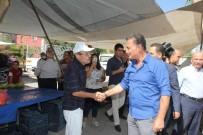 SEMT PAZARI - Başka Tuna, Pazar Esnafı İle Bir Araya Geldi
