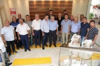 BODRUM BELEDİYESİ - Belediye İş Sendikası Genel Başkanı Yurdakul'dan Başkan Kocadon'a Ziyaret