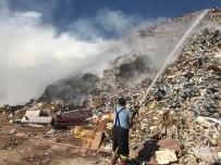 BILECIK MERKEZ - Bilecik Çöplüğünde Yangın