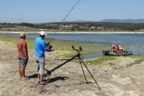 OLTA - Bolu'da, Sazan Yakalama Yarışı Başladı