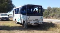 İBRAHIM DEMIR - Çanakkale'de Minibüs Devrildi Açıklaması 12 Yaralı