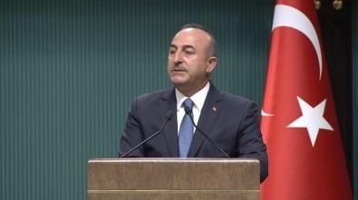 Çavuşoğlu'ndan 'referandum' açıklaması