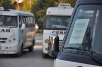 YOLCU TAŞIMACILIĞI - Cerrahlı Minibüsçülerden Eylem
