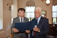 OSMAN GÜRÜN - Çin Başkonsolosu Zengxian'ndan Başkan Gürün'e Ziyaret
