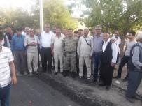 Hacıları Karakol Komutanı Karşıladı