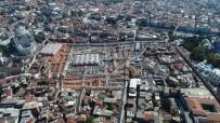 VİTRİN - Kapalıçarşı'da Restorasyon Çalışmaları Havadan Görüntülendi