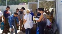 DOĞUBEYAZıT - Karabük'te 96 Göçmen Bir Otobüste Yakalandı
