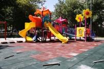 ERTUĞRUL ÇALIŞKAN - Karaman'da Çocukların Oyun Alanları Daha Güvenli Hale Getiriliyor