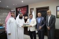 ATATÜRK HEYKELİ - Katarlılar Artvin'e Turizm Yatırımı İçin Geldi