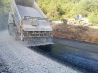 GÖKTEPE - Menteşe'de Asfalt Çalışmaları Devam Ediyor