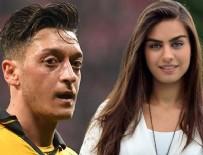 MESUT ÖZİL - Mesut Özil'in sevgilisi oyuncu Amine Gülşe'den müjdeli haber