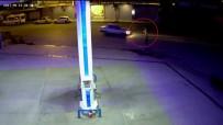 BENZIN - Otomobilin Yayaya Çarpma Anı Güvenlik Kamerasında