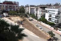 İSTİNAT DUVARI - Pınarbaşı Mahallesine Modern Park