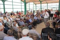PANCAR EKİCİLERİ KOOPERATİFİ - Recep Konuk, Çiftçilerle Buluşmaya Devam Ediyor