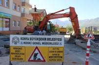 Seydişehir'de İçme Suyu Şebeke Hatları Yenileniyor