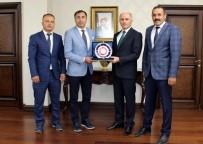PORSELEN TABAK - Sezer Huysuz'un Karaman'da Ziyaret Günü