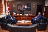 BAŞSAVCı - Subaşıoğlu, Başsavcısı Yılmaz'a Projelerini Anlattı
