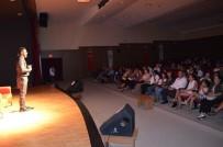CEMEVI - Tiyatrocu  Umut Oğuz Standup Gösterisiyle Didimlileri Güldürdü