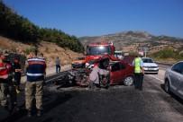 KURTARMA EKİBİ - Tokat'ta Otomobil İle Hafif Ticari Araç Çarpıştı Açıklaması 1 Ölü, 7 Yaralı