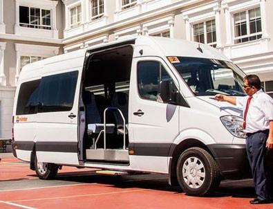 Servis şoförleri, taksici, dolmuşçu ve halk otobüs şoförleri belgeleniyor