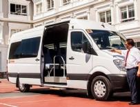 BENDEVI PALANDÖKEN - Servis şoförleri, taksici, dolmuşçu ve halk otobüs şoförleri belgeleniyor