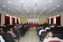 EMNİYET AMİRİ - Tutak'ta Muhtarlarla Aylık Toplantısı Yapıldı