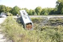 Yolcu Otobüsü Kazası Ucuz Atlatıldı