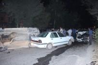ERKENEK - 3 Kişinin Yaralandığı Kaza Sonrası Eylem