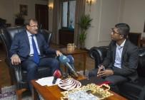 İSLAM İŞBİRLİĞİ TEŞKİLATI - Başbakan Yardımcısı Çavuşoğlu, Avrupa Rohingya Konseyi Temsilcisi Kyaw'ı Kabul Etti