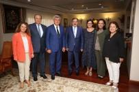 İBRAHIM KARAOSMANOĞLU - Başkan Karaosmanoğlu'ndan Bakan Eroğlu'na Ziyaret