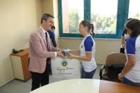 HENTBOL - Başkan Şirin Başarılı Hentbolcuları Uğurladı