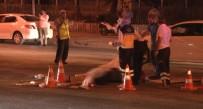 OLAY YERİ İNCELEME - Başkent'te Feci Kaza Açıklaması 1 Ölü, 4 Yaralı