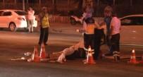 OLAY YERİ İNCELEME - Başkent'te Trafik Kazası Açıklaması 1 Ölü, 4 Yaralı