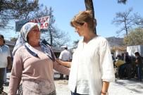 BODRUM BELEDİYESİ - Bodrum Belediyesi, Zeytinköylülerin Yanında