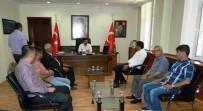 MEMİŞ İNAN - Doğanşehir'de Yeni Kaymakam Göreve Başladı