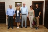 SOSYAL DEMOKRAT - Eczacılık Fakültesi Mezunları Derneği Başkan Kurt'u Ziyaret Etti