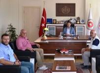BAŞSAVCı - Gazetecilerden Cumhuriyet Başsavcısı Karahan'a Ziyaret