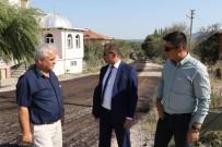 ATIK SU ARITMA TESİSİ - Gördes'te Asfalt Çalışmaları Devam Ediyor