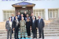 GAZIANTEP TICARET ODASı - Hıdıroğlu Jandarma Komutanı Ve Emniyet Müdürü İle Bir Araya Geldi