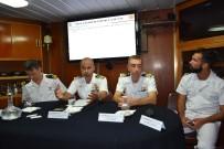AKSAZ DENIZ ÜSSÜ - İtalyan Savaş Gemisi Eğitim İçin Aksaz'a Demirledi