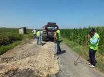 KARAKÖPRÜ - Karaköprü Kırsalında Asfalt Çalışmaları Sürüyor