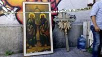 KARAKÖY - Karaköy Latin Katolik Kilisesi'nde Hırsızlık