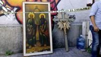 KARAKÖY - Karaköy Latin Katolik Kilisesinden Hırsızlık