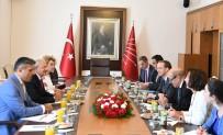 FRANSA DIŞİŞLERİ BAKANI - Kılıçdaroğlu Fransa Dışişleri Bakanı İle Görüştü