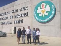 KATI ATIK BERTARAF TESİSİ - Örnek Tesis Çevre İllerden İnceleme Heyetini Ağırladı