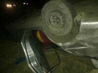 YAKıNCA - Otomobil Takla Attı Açıklaması 3 Yaralı