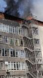 HELAL - Özel Eğitim Kurumlarının Olduğu Binada Yangın Paniği