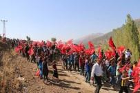 MUHAMMET FUAT TÜRKMAN - Şemdinli'de 'Kohrolsun PKK' Sloganları