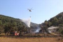 İŞ MAKİNESİ - Tarihi Gelibolu Yarımadası'ndaki Yangın Kontrol Altında