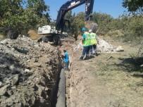 TARIM ARAZİSİ - Tarım Arazisinden Geçen Kanalizasyon Hattının Güzergahı Değişti
